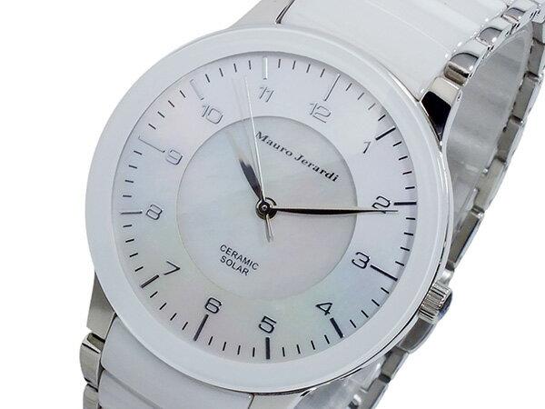 マウロ ジェラルディ MAURO JERARDI セラミック ソーラー メンズ 腕時計 MJ043-3