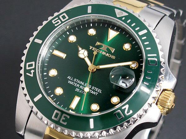 テクノス TECHNOS 腕時計 メンズ T2118TM 20気圧防水 クオーツ