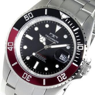 テクノス TECHNOS 시계 남성용 TSM402SH 잠수 부 디자인