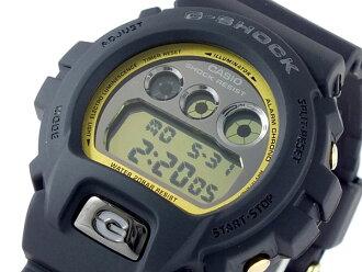 카시오 CASIO G 충격 G-SHOCK 역 수입 디지털 남자 시계 DW-6900MR-1 골드 × 블랙
