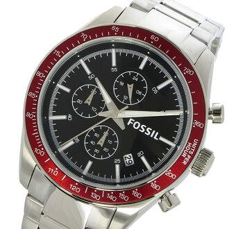 フォッシル FOSSIL 크로 노 쿼 츠 남성용 시계 BQ2086 블랙