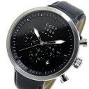 シーシーシーピー CCCP クオーツ メンズ クロノ 腕時計 CP-7007-02 ブラック