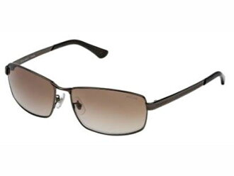Police POLICE sunglasses mens SPL519J 0K03 Brown Brown mirror