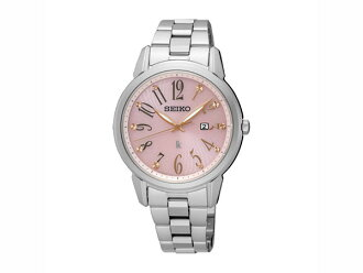 精工精工反向太阳能女式手表 SUT297J1