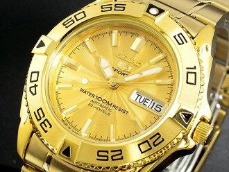 Self-winding watch watch SNZB26J1 men gold metal belt made in SEIKO SEIKO SEIKO 5 sports 5 SPORTS Japan