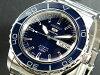 Self-winding watch men watch SNZH53J1 blue X silver metal belt made in SEIKO SEIKO 5 SPORTS reimportation Japan