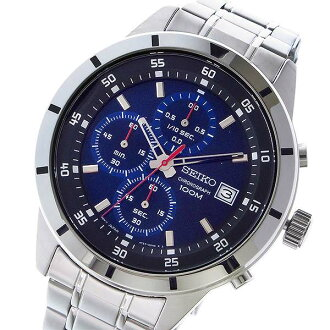 SEIKO SEIKO reimportation chronograph men watch SKS559P1 metal belt