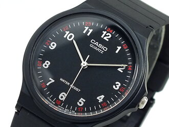 카시오 CASIO 쿼 츠 시계 MQ24-1BL 블랙