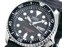 セイコー SEIKO ダイバーズ 自動巻き 腕時計 ブラックボーイ 日本製 SKX007J メンズ ブラック ラバーベルト