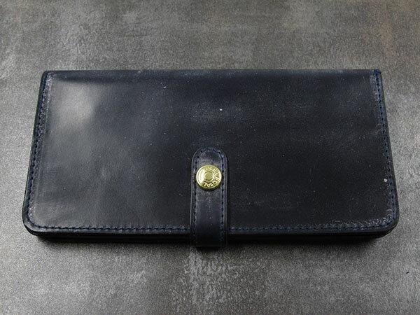 グレンロイヤル GLENROYAL 長財布 メンズ 03-6178 ネイビー ブライドルレザー