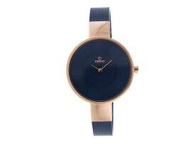 オバク OBAKU クオーツ ユニセックス 腕時計 V149LXVLML ネイビー