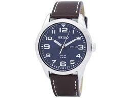 精工SEIKO太陽能SOLAR人海外型號手錶SNE475P1皮革皮帶