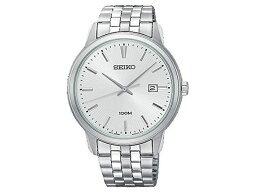 精工SEIKO新古典的NEO CLASSIC石英人手錶SUR257P1不銹鋼皮帶