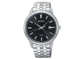精工SEIKO新古典的NEO CLASSIC石英人手錶SUR261P1不銹鋼皮帶