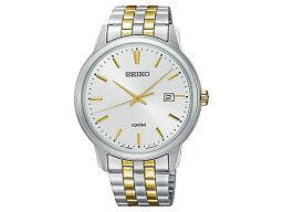 精工SEIKO新古典的NEO CLASSIC石英人手錶SUR263P1銀子×黄金