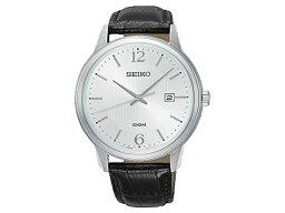 精工SEIKO新古典的NEO CLASSIC石英人手錶SUR265P1皮革皮帶