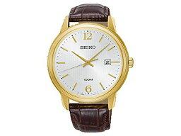 精工SEIKO新古典的NEO CLASSIC石英人手錶SUR266P1皮革皮帶