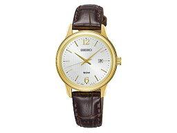 精工SEIKO新古典的NEO CLASSIC石英女士手錶SUR658P1皮革皮帶