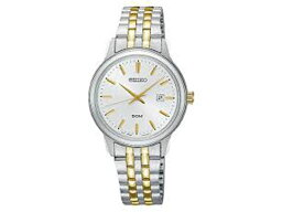 精工SEIKO新古典的NEO CLASSIC石英女士手錶SUR661P1銀子×黄金