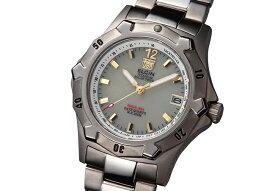 エルジン ELGIN 腕時計 チタンソーラー ダイバーズ メンズ FK1423TI-BR