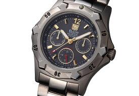 エルジン ELGIN 腕時計 チタンソーラー ダイバーズ メンズ FK1424TI-B