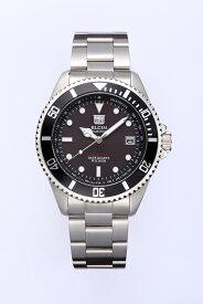 エルジン ELGIN 腕時計 NEWソーラー ダイバーズ メンズ FK1426S-B