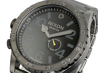 Nixon NIXON 51-30 watch A057-680 ALL GUNMETAL BLACK