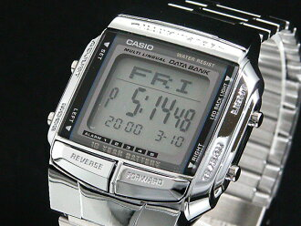 Casio CASIO databank DATA BANK Watch Silver DB360-1 A