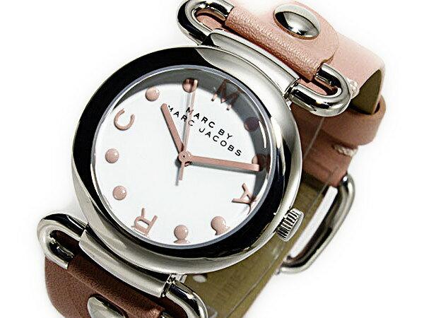 マーク バイ マークジェイコブス MARC BY MARC JACOBS レディース 腕時計 MBM1305 ピンク レザーベルト