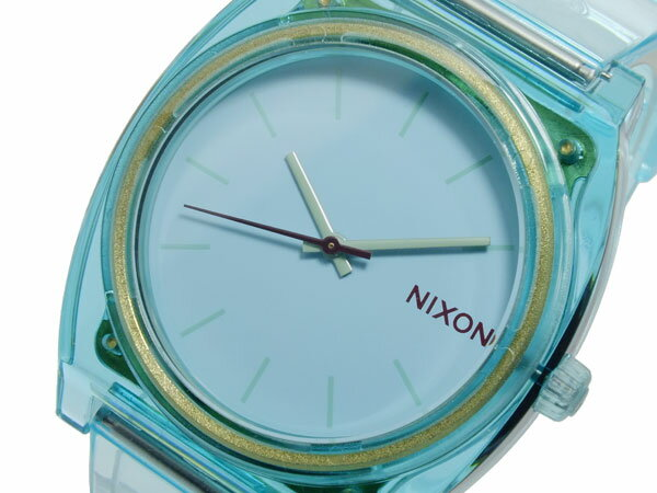 ニクソン NIXON TIME TELLER P TRANSLUCENT MINT 腕時計 A119-1785 レディース