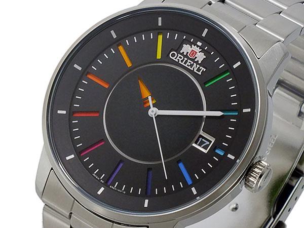 オリエント ORIENT 自動巻き メンズ 腕時計 WV0761ER ブラック×マルチカラー メタルベルト
