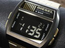 ディーゼル DIESEL デジタル メタルベルト 腕時計 メンズ DZ7195 ブラック