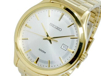 Seiko SEIKO quartz mens watch SUR054P1 gold