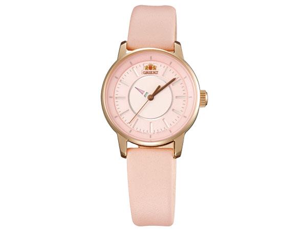 オリエント ORIENT 自動巻き レディース 腕時計 WV0031NB ゴールド×ピンク レザーベルト