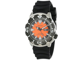 Seiko SEIKO SUPERIOR superior overseas model divers mens watch SRP315 Orange x black rubber belt