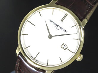 FREDERIQUE CONSTANT Frederic constant automatic movement-Switzerland men's watch FC-306V4S5 leather belt