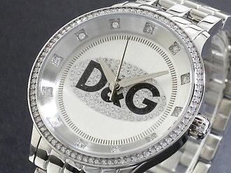 D&G 돌체 앤 가바나 시계 프라임 타임 DW0145 남성용 여성용 실버 메탈 벨트 팔찌