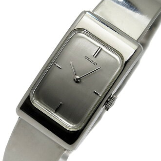 Seiko SEIKO hand winding ladies watch ZWB13 silver