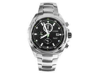 Citizen CITIZEN eco-drive Japan-made solar Chronograph Watch mens CA0190-56E
