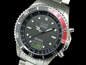 エルジン ELGIN 腕時計 電波 ソーラー メンズ FK1400S-BRP