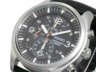 세이코 SEIKO 역수입 크로노그래프 쿼츠 맨즈 손목시계 SNDA57P1