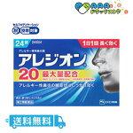 【第2類医薬品】アレジオン20(24錠)/送料無料/セルフメディケーション税制対象