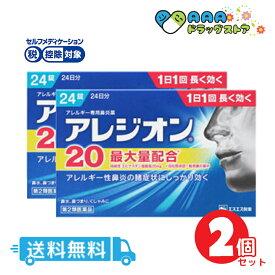 【第2類医薬品】アレジオン20(24錠)|送料無料|2個セット|セルフメディケーション税制対象
