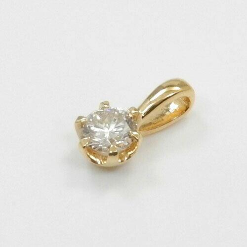 ダイヤモンド 0.2カラット ペンダントヘッド18金ゴールド(K18)/18金ホワイトゴールド2種類からお選びいただけます。ダイヤモンドtypeAA送料無料