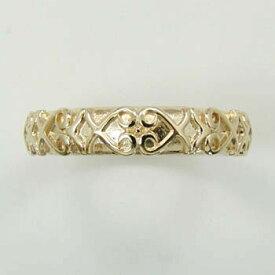 18金ピンクゴールド/18金/18金イエローゴールド(青金)18金ホワイトゴールドの4種類からお選びいただけます。デザインリング