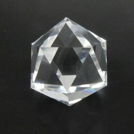 クリスタル 作品 正20面体 水晶110ct送料無料