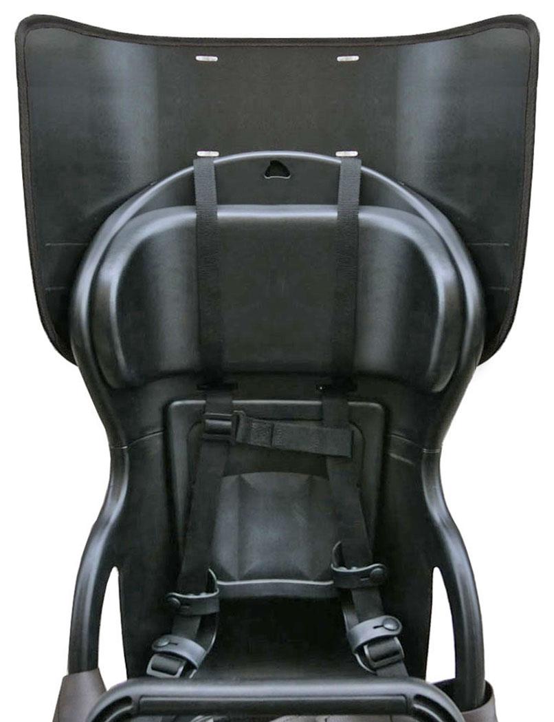自転車 HIRO チャイルドシートリア用 こどもヘッド2 日本製●室内空間確保!ギュットアニーズ (ANNYS) ビッケ(bikke) ハイディー (HYDEE) や OGK -RBC015など高さをアップしてカバーを使用【HIRO『こどもヘッド2』子供乗せ自転車チャイルドシート 後ろ専用 】