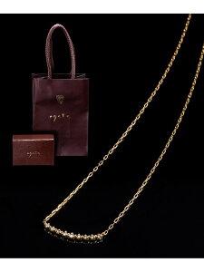 K18ネックレス agete アガット アクセサリー ネックレス ゴールド【送料無料】[Rakuten Fashion]