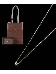 K18ダイヤモンドネックレス agete アガット アクセサリー ネックレス ホワイト【送料無料】[Rakuten Fashion]