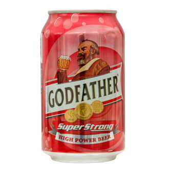 The Godfather super long canned beer 330 ml 1 can GOD FATHER SUPER STRONG drinks, a 20-year-old from